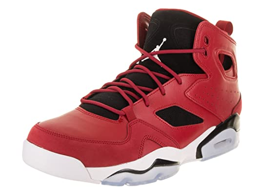 on sale 867de 67666 Amazon.com   Jordan 555475-600  Flight Club 91 Mens Gym Red White Black  Sneakers (13 D(M) US Mens)   Basketball