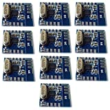 10pcs NRF24L01+ 2.4GHz RF Transceiver Module for Wireless Peripherals, Remote Controls, Automation, Headsets and Wireless Toys from Optimus Electric
