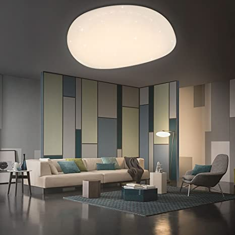 VGO LED cristal techo Starry Sky cálido Starlight techo iluminación salón techo lámpara corredor cámara Belle Mordern cuarto de baño luz (60W ...