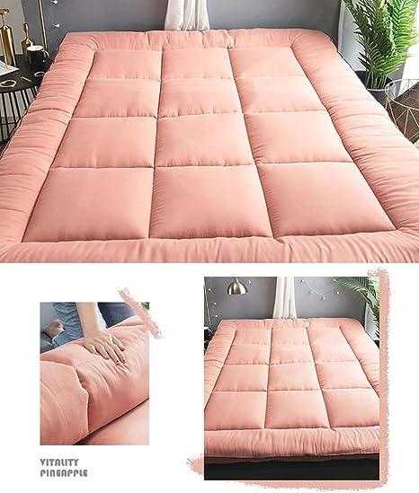 SHIN Doux Japanese Futon Matelas Pliant et Enroulable Bed Ground,B,100 200cm Matelas de Sol Futon matelass/é Peu encombrant