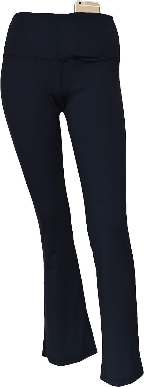 Private Island Women Pocket Plus Size UPF 50 Long Bootcut Pants Swim Rash Guard