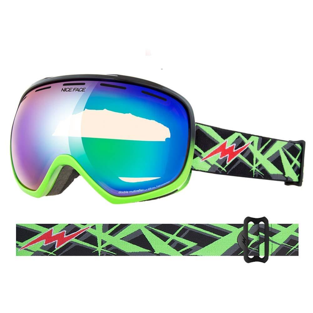 Ski Goggles Coated Große Sphärische Brille Schnee Spiegel Spiegel Spiegel Sport Klettern Brille Add-on Film Karte Kurzsichtigkeit (Farbe   A) B07HG11T4J Sonnenbrillen Starke Hitze- und HitzeBesteändigkeit 537336