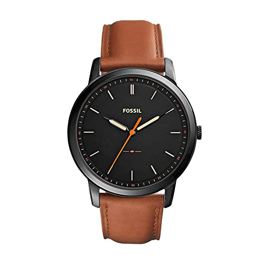 cf1c5921d2c Buy Fossil Analog Black Dial Men s Watch-FS5305 Online at Low Prices in  India - Amazon.in