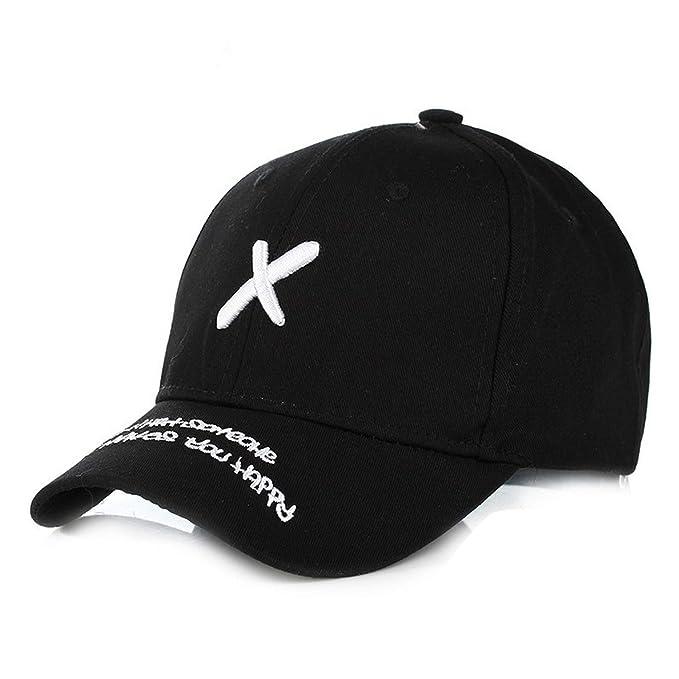 85d9adb4 Embroidery X Black Cap 2019 Hats for Men Women Cotton Swag Hip Hop ...