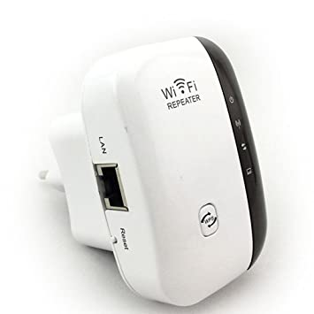 Wifi Amplificador de rango Amplificador de red inalámbrico-N Wifi Repetidor Mini 300Mbps Amplificador de rango Amplificador de señal Routers WIFI Ap Wps ...