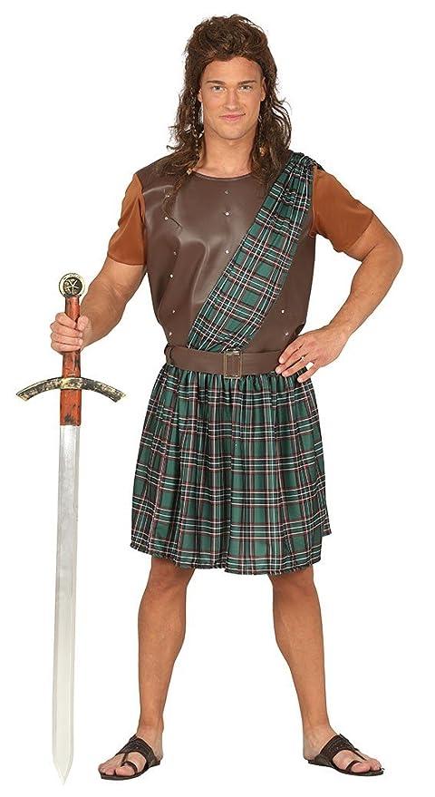FIESTAS GUIRCA Traje de Guerrero escocés William Wallace Braveheart