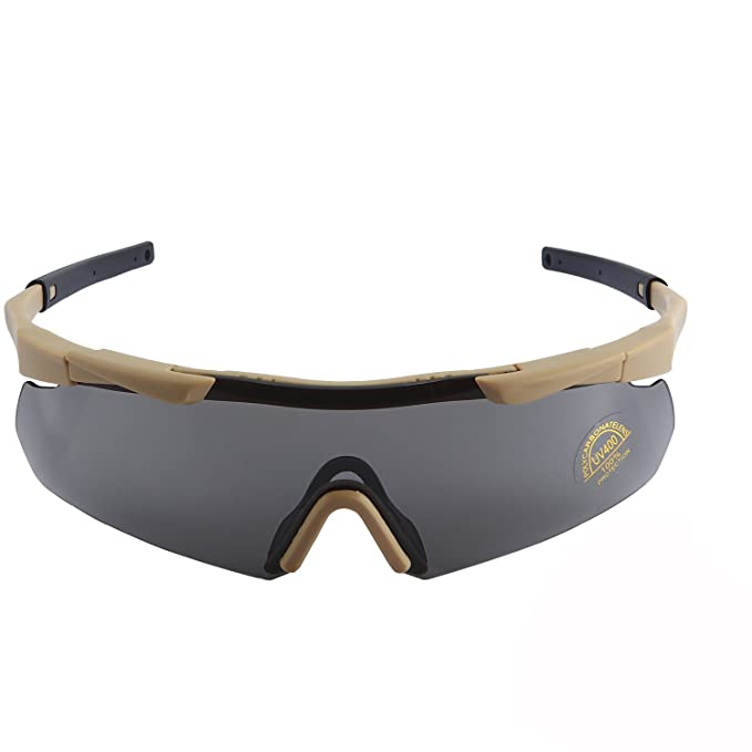 f5ab92f7523 Image Unavailable. Image not available for. Color  BRIGADA Polarized Cool  Black Fashion Driving Sport Sunglasses for Men to Keep Safe ...