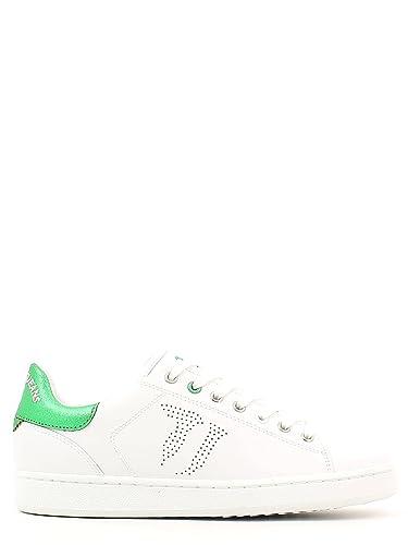 Trussardi - Zapatillas para mujer Blanco Size: 35 HcHyG5