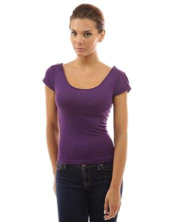 BonAchat Femme T-Shirt Dos Nu Dentelle Col Rond Haut Manches Courtes,  Sweatshirt Dos Nu Dentelle Sexy Top Manches Courtes Femme Été  Amazon.fr   Vêtements et ... 65a7f5263152