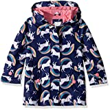 Carter's Toddler Girls' Her Favorite Rainslicker Rain Jacket, Unicorn Rainbows, 2T