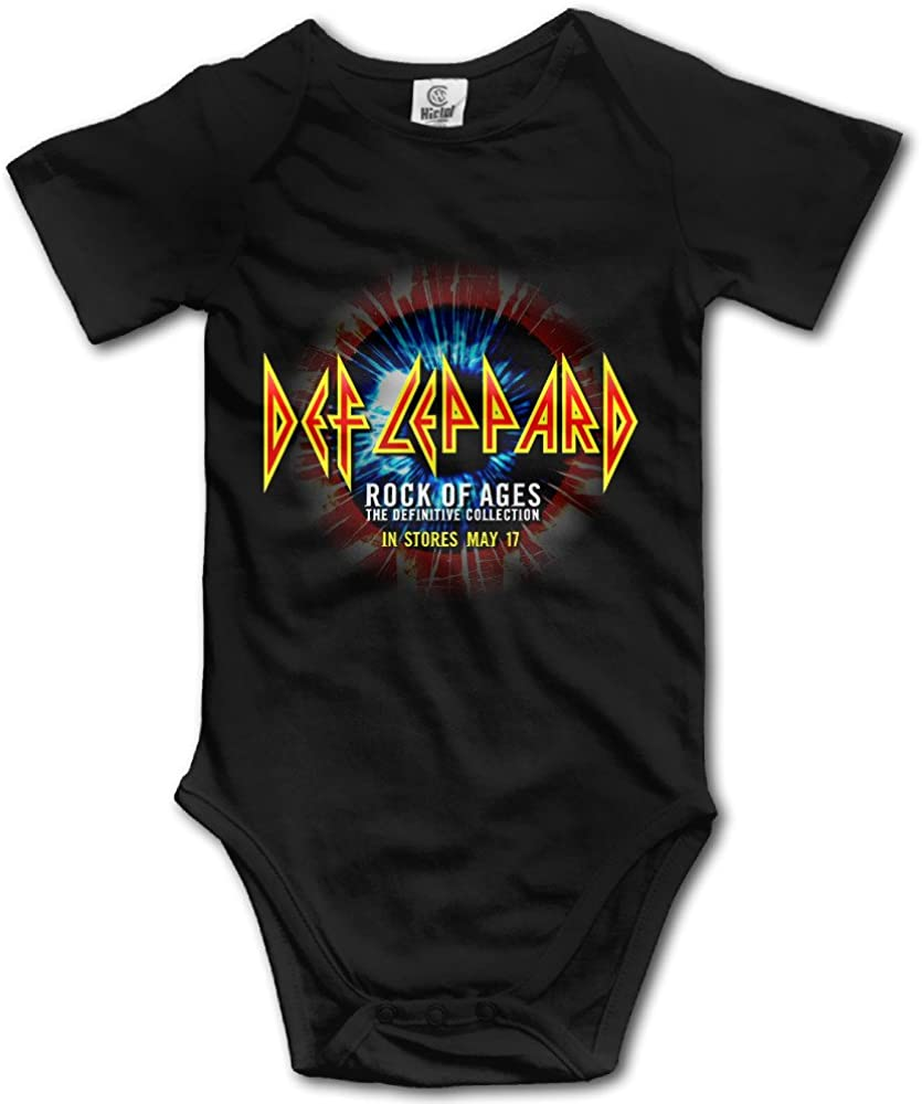 Wuliwuli Def Leppard On Through The Night Baby Onesie Baby Bodysuit