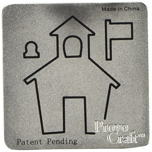Provo Craft & Novelty/ Cuttlebug Cuttlebug 2-Inch-by-2-Inch Die, School House -