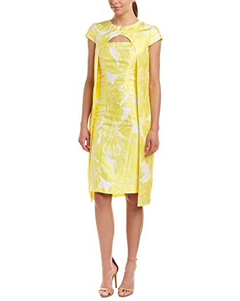 10a6f72bf1c8 Kay Unger Womens Midi Dress