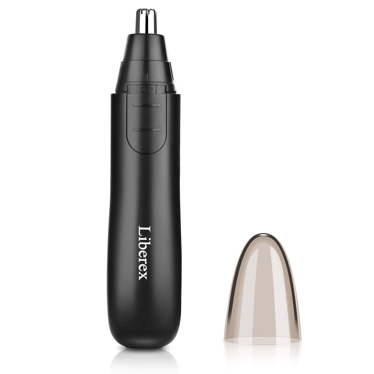 Liberex Electronic Nose Ear Hair Trimmer for Men Women, Painless Trimming