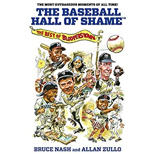 The Baseball Hall of Shame Audiobook