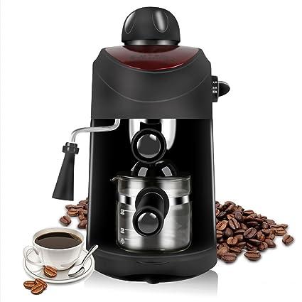Máquinas de café semi automática máquina de café espresso vapor hogar alta presión cafetera de goteo