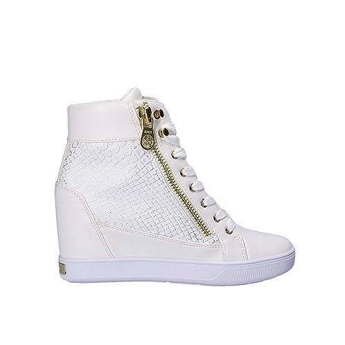 20df0a6d Zapatilla Guess FLFOR1-FAL12-WHIWH: Amazon.es: Zapatos y complementos