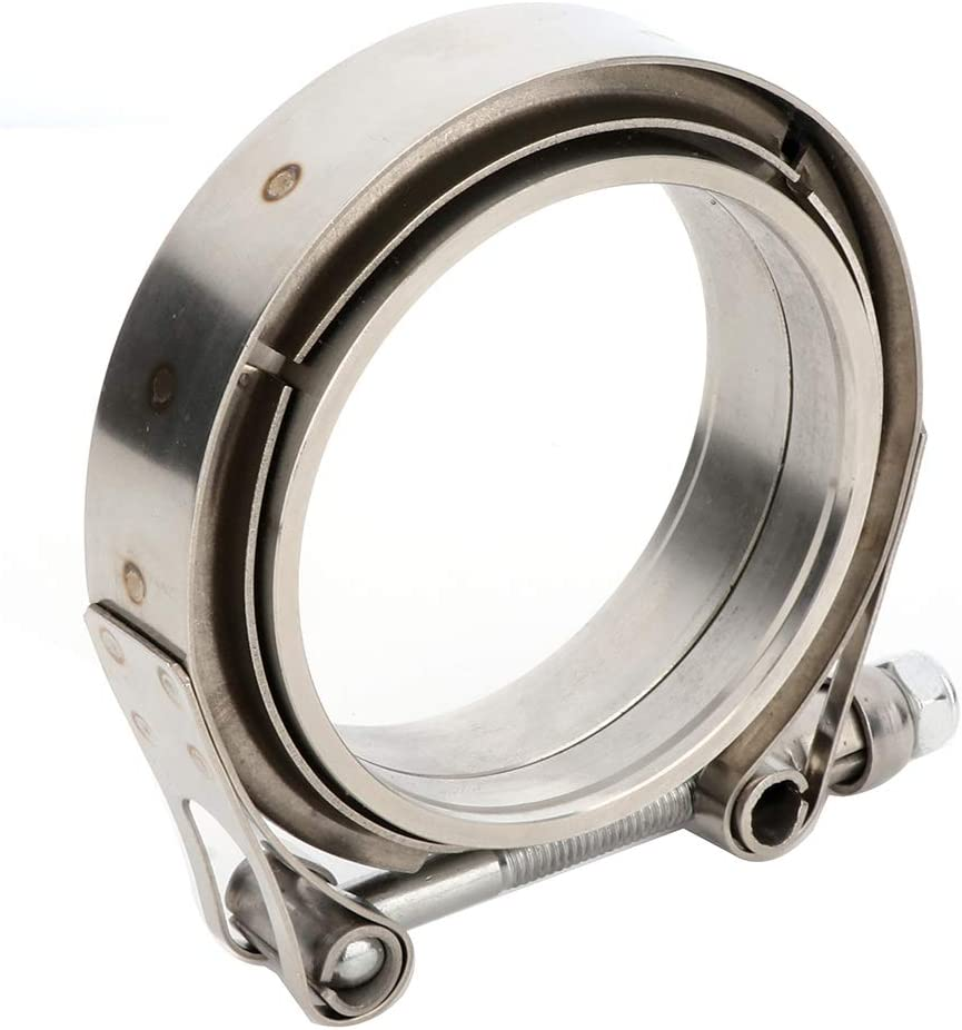 SCITOO 3 inch V Band Clamp Stainless Steel Male Female Flange