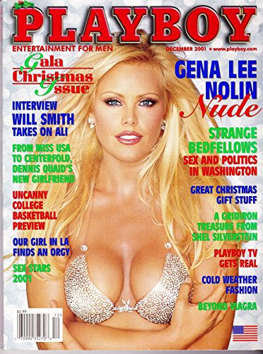 Playboy Magazine, December 2001