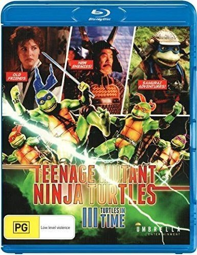Blu-ray : Teenage Mutant Ninja Turtles 3: Turtles In Time (Australia - Import)