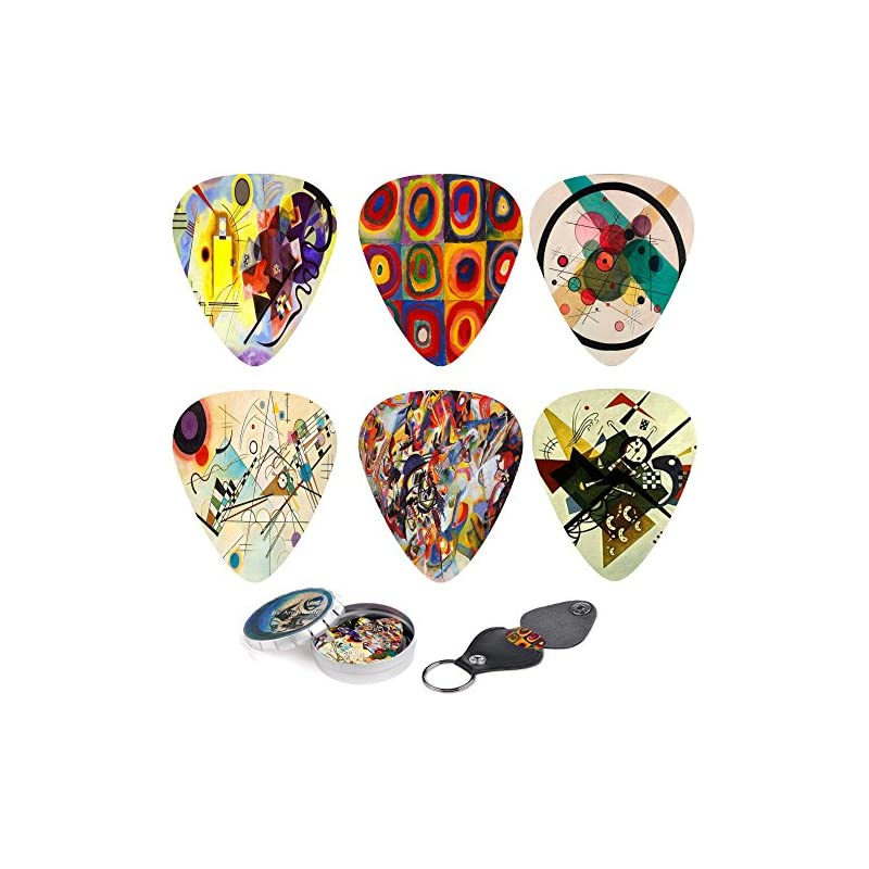 Abstract Art Cool Guitar Picks - Wassily