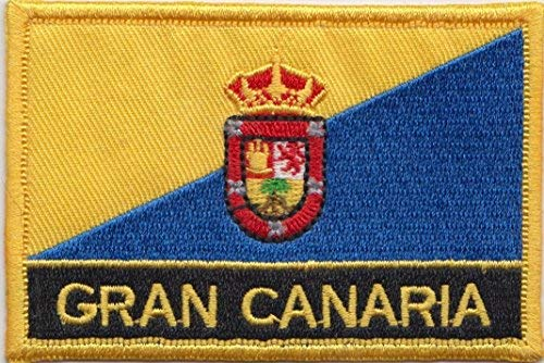 Gran Canaria Islas Canarias España bordar insignia ...