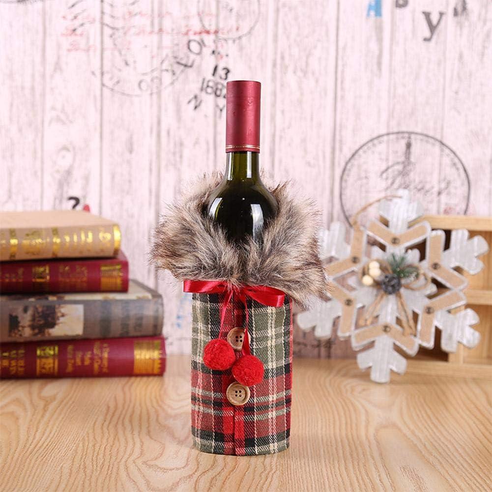 MODGS Suéter De Navidad Tapa De La Botella De Vino Diseño Más ...