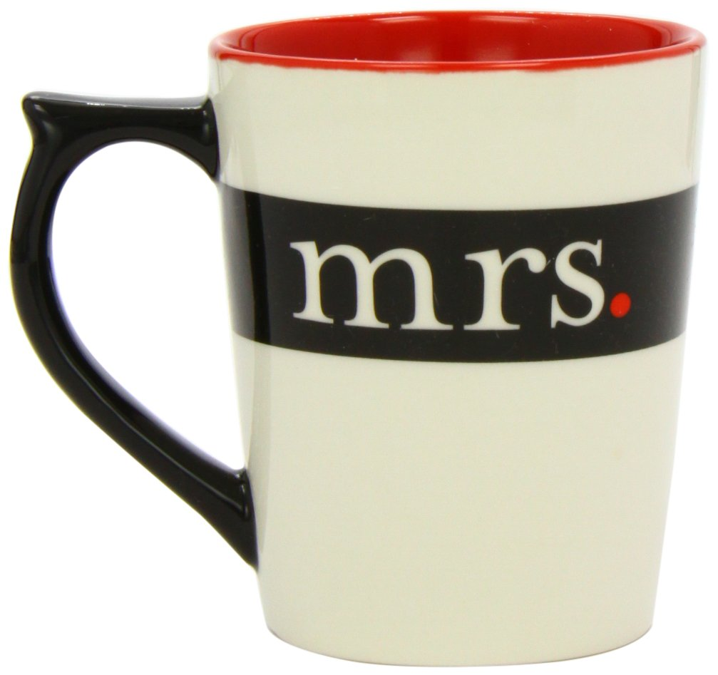 Amazon.com | Mr./Mrs. Mug (Mr. & Mrs.): Coffee Cups & Mugs