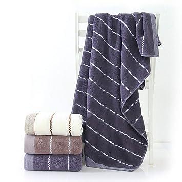 JASONN Toalla de baño de Lujo, Suave, 100% algodón, Paquete de 3