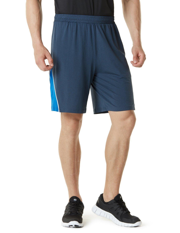 TSLA Men's Multi Pocket Workout Perfomance
