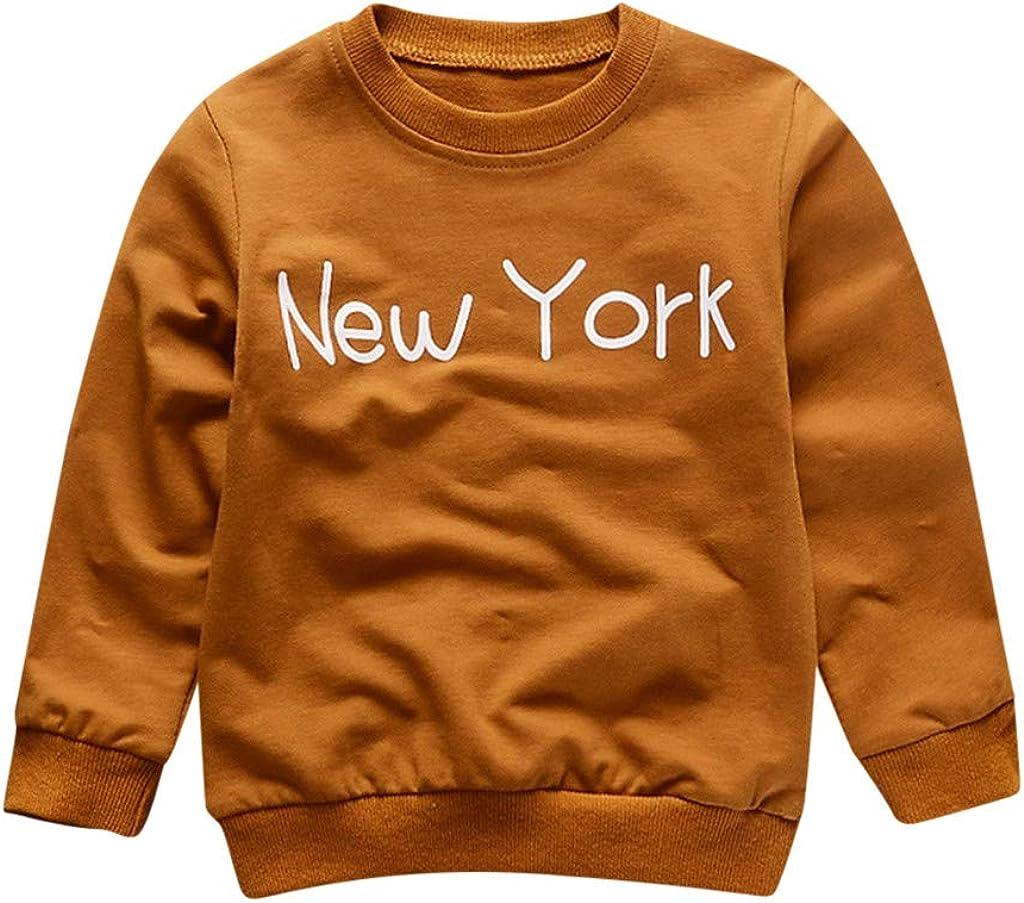 Unisex Jungen M/ädchen Baby Baumwolle Pullover Karikatur-Tierlanges Lustig Langarm Sweatshirt Pullover Tops Sch/ön Strickjacke Herbst Winter Kinder Langarmshirt T-Shirt Jumper