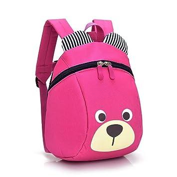 Mochila para niños - Cute Pig Toddler Schoolbag Cajas de Almuerzo para bebés Bolsas para Llevar o Preescolar Kindergarten Bolsas de Libros (Azul): ...