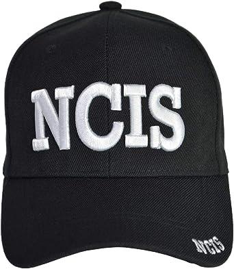 Naval Criminal Investigative Service Cap NCIS Black Hat