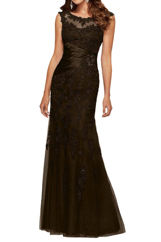 (ウィーン ブライド)Vienna Bride 披露宴用母親ドレス ロングドレス 演奏会 発表会 結婚式 母親用ドレス ママドレス 長袖 全12色 コンサート B01MS76CUB 23W|ダークブラウン ダークブラウン 23W