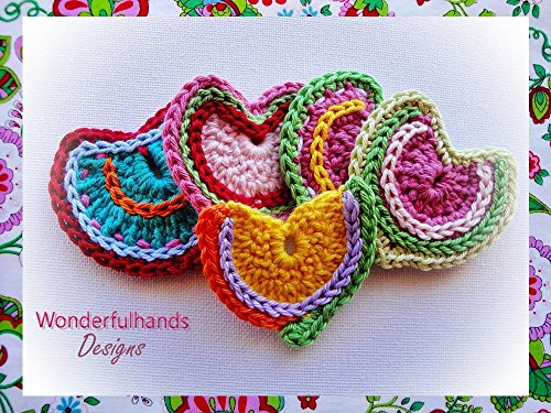 Crochet Hearts Pattern - Valentine's Day Crochet