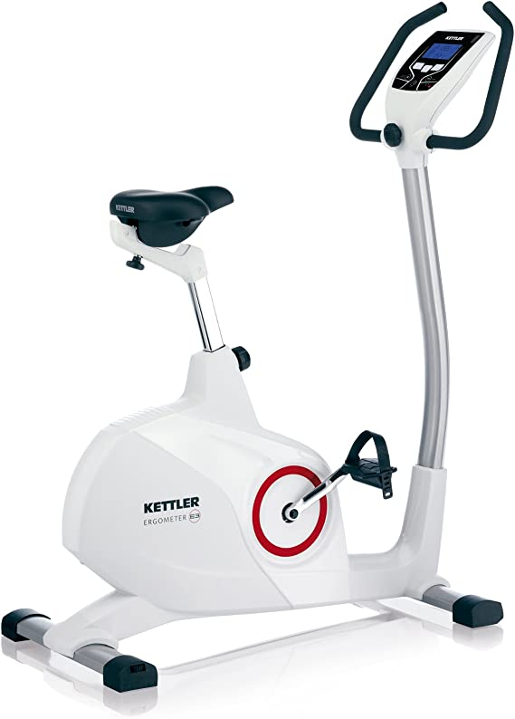 Kettler Ergometer E3, Bicicleta estática con ergómetro, Color Gris ...