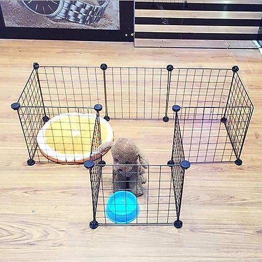 Lcxghs Metal Plegable for Mascotas, Ejercicio y cercado de ...