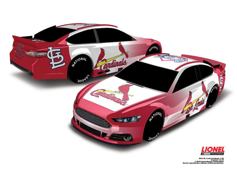 Baseball 1:18 Scale Racing Stock Car /…