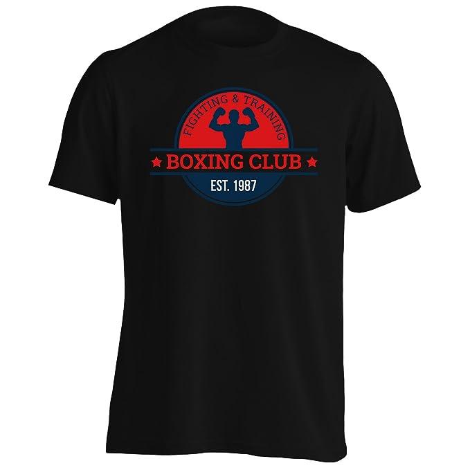 INNOGLEN Boxeo Box Hombre Vs Club Camiseta de los Hombres m684m: Amazon.es: Ropa y accesorios