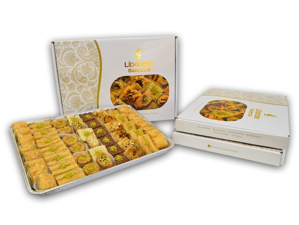 Baklava Assortment - 63 Pc. by Libanais (Image #3)