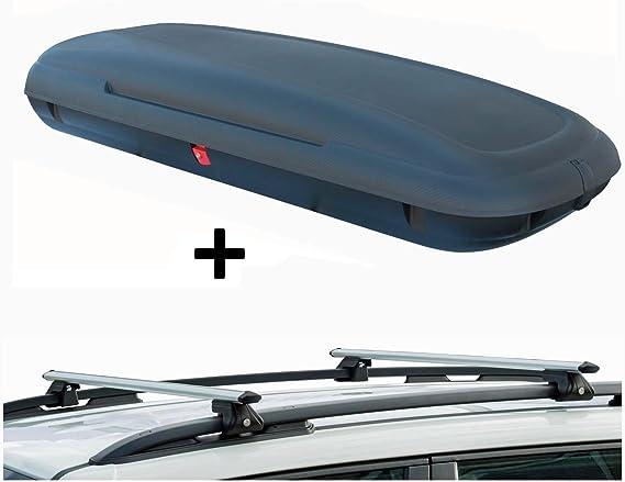 Vdp Vdp Ca480 Dachbox 480 Ltr Carbon Look Abschließbar Alu Relingträger Crv135 Für Ford Kuga Ab 08 90kg Abschließbar Auto