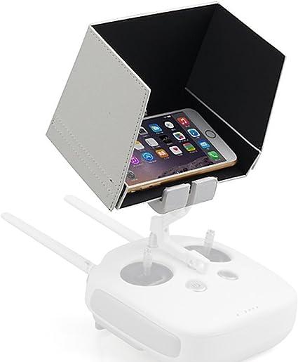 Powerextra 5.5 pulgadas Smartphone y Monitor Parasol Hood para DJI ...