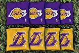 NBA Replacement All Weather Cornhole Bag Set NBA Team: Los Angeles Lakers