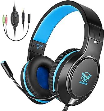 Cocoda Cascos Gaming, Auriculares Gaming PS4 para PS3/PC/Xbox One ...