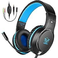 Cocoda Cascos Gaming, Auriculares Gaming PS4 para PS3/PC/Xbox