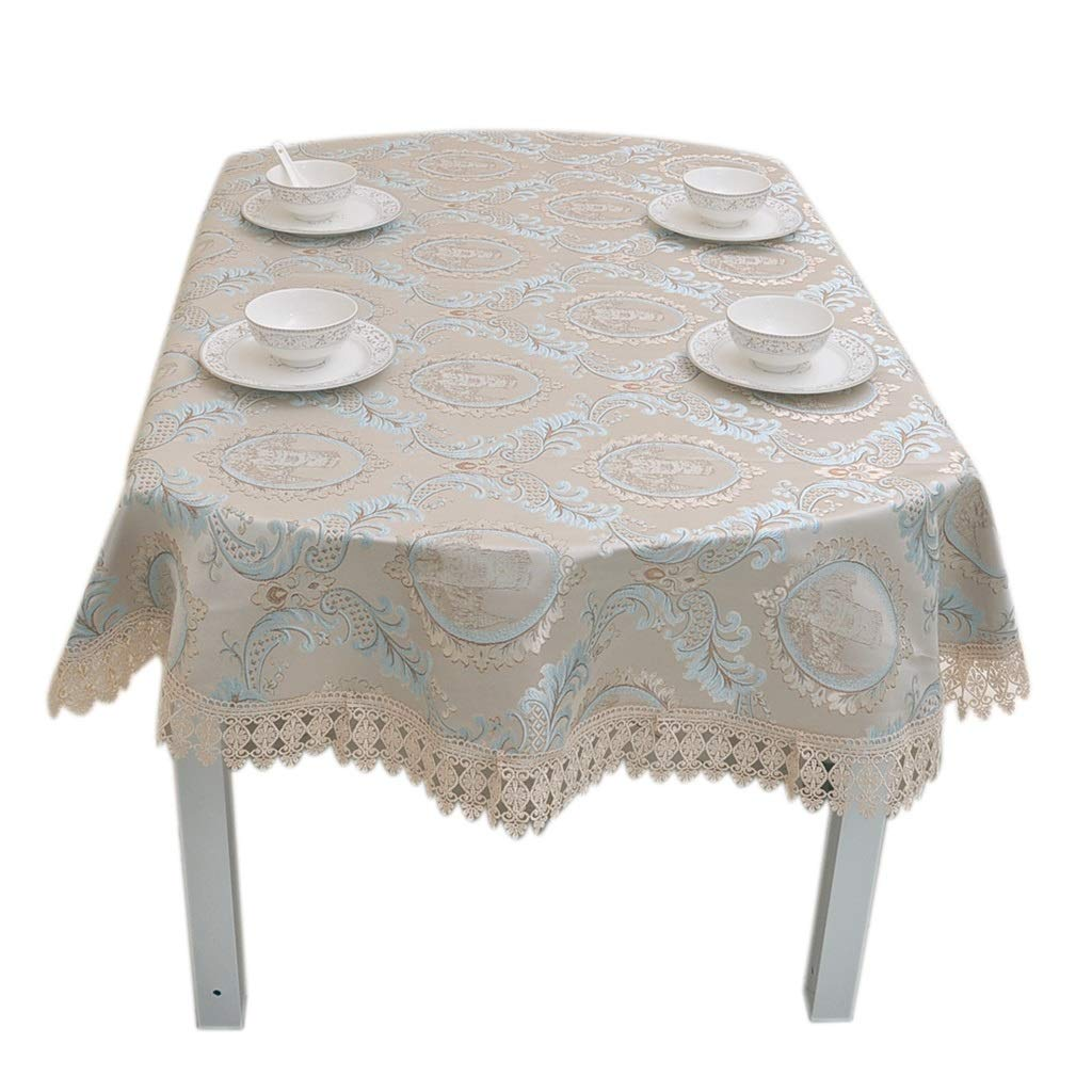 SX-ZZJ Mantel Mantel - Mesa de Comedor Ovalada Home European Style ...