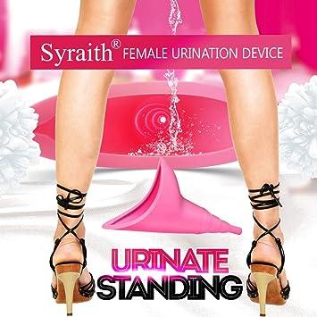 10 Stücke Frauen Weibliche Tragbare Einweg Urinal Standing Pee Urination  CBL