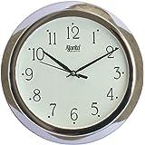 Ajanta Analog Wall Clock(Silver,Round)