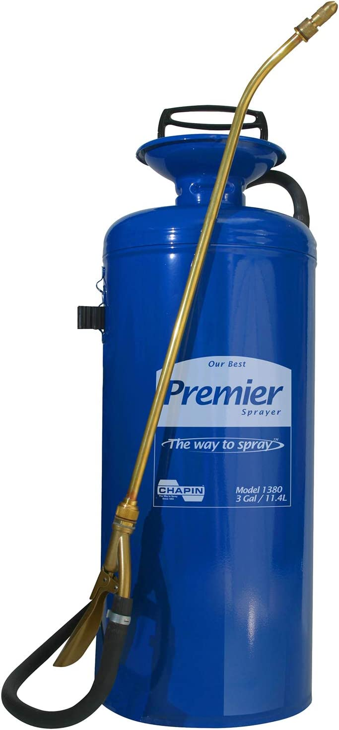 B00002N8O2 Chapin 1380 Premier Pro 3-Gallon Tri-Poxy Steel Sprayer For Fertilizer, Herbicides and Pesticides 61WbWTwvxCL.SL1500_