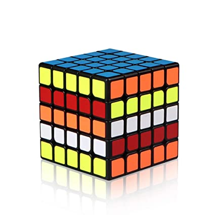 Alician 5 X 5 6.2CM Speed Magic Cube Toy for Professional Game Color